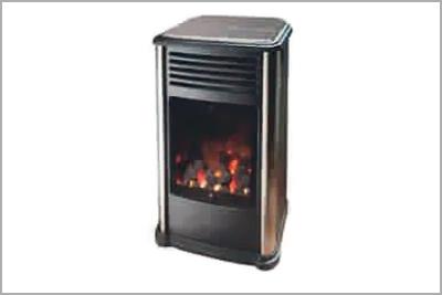 Estufa fireside llama real carboncillos decorativos - Estufas cataliticas de butano ...